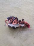 big tarpon we beached. NOT ILLEGAL!!!